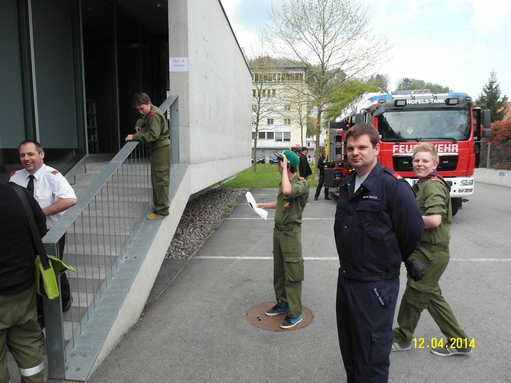 Wissenstest Feuerwehrjugend 12.4.2014